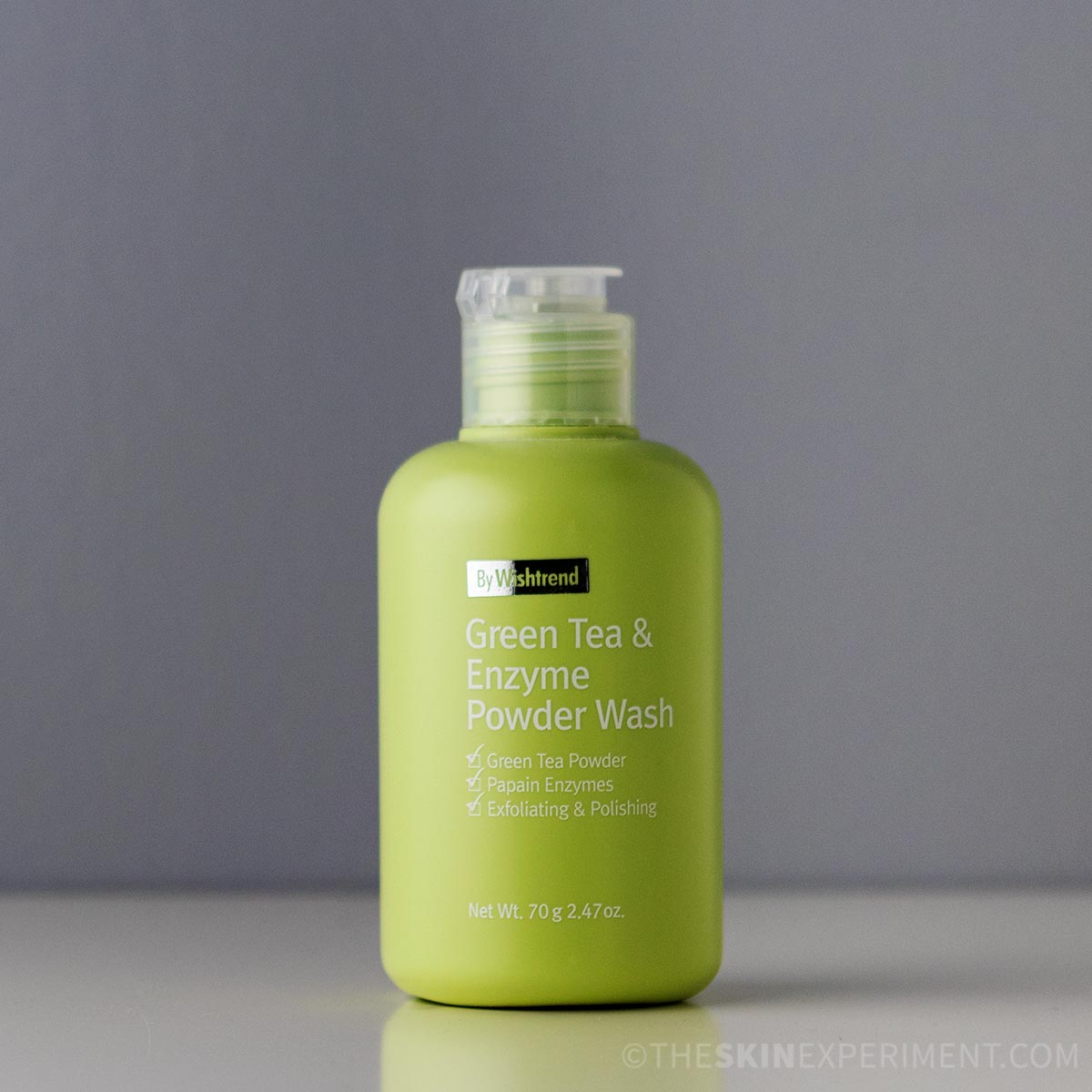Green Tea Face Wash – By Wishtrend Green Tea & Enzyme Powder Wash Review