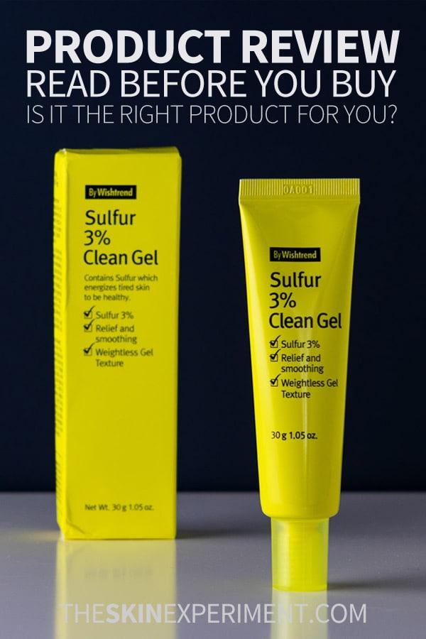 Wishtrend Sulfur Gel