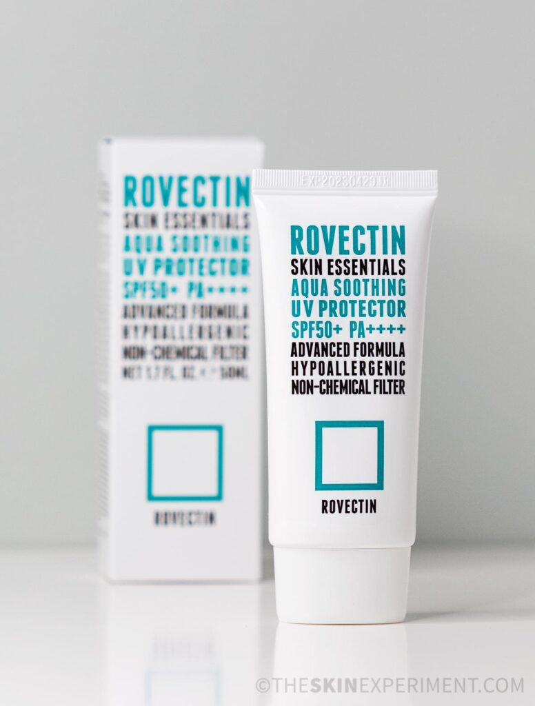 Rovectin Sunscreen - Rovectin Skin Essentials Aqua Soothing UV Protector