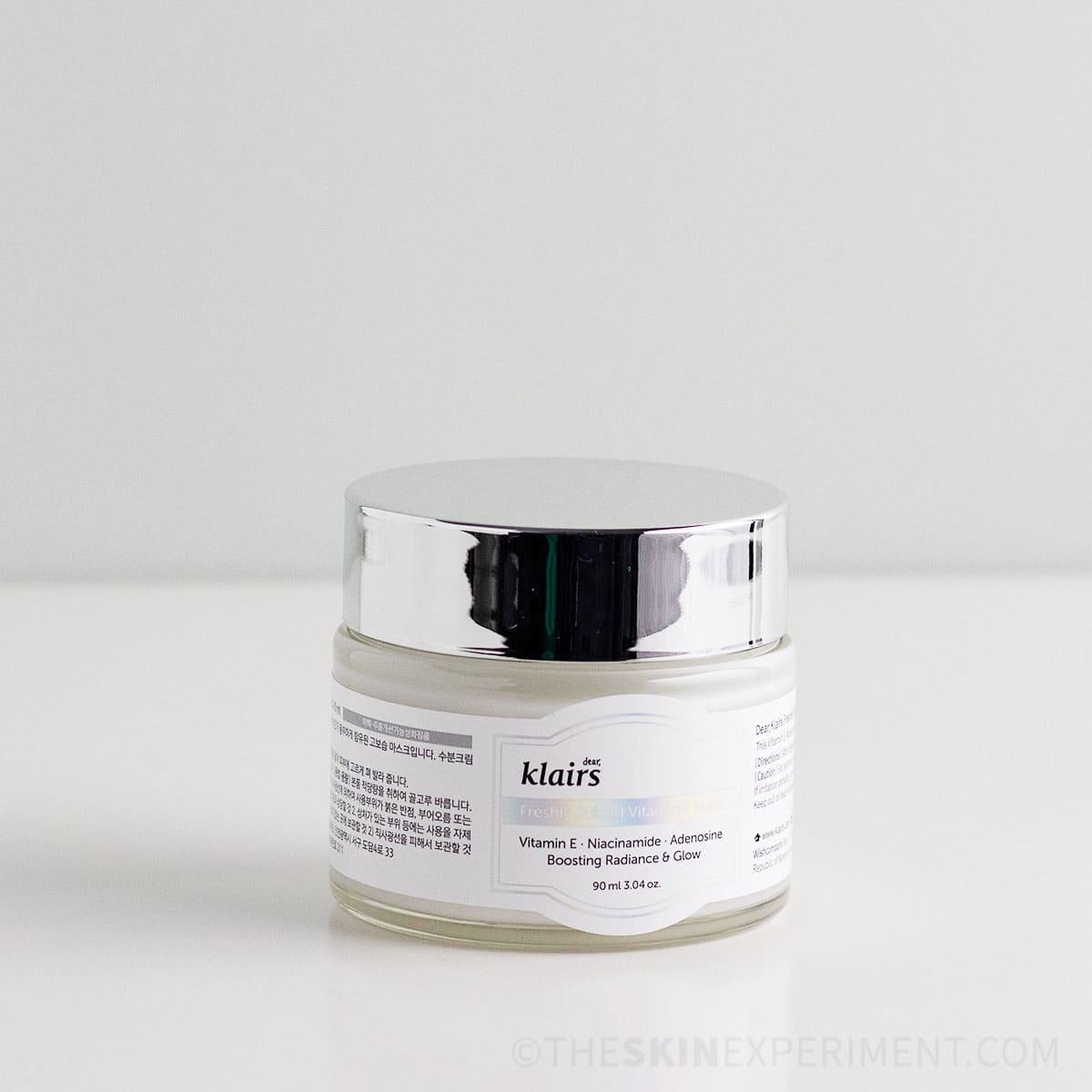 Klairs Vitamin E Mask Review