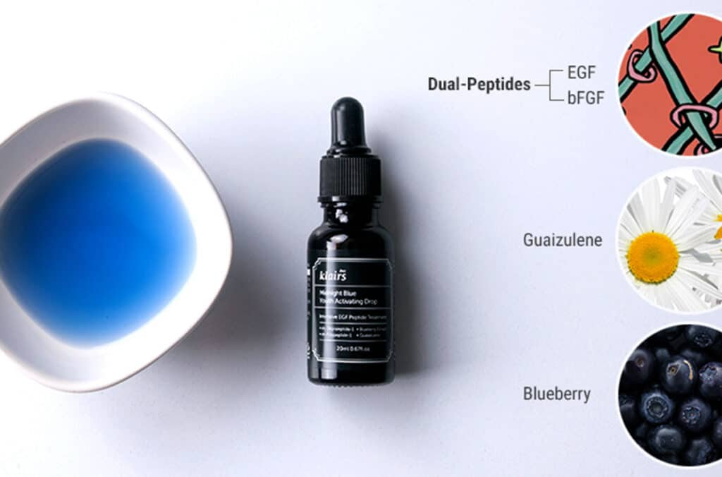 Klairs Midnight Blue Youth Activating Drop Ingredients