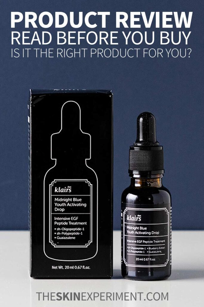 Klairs Midnight Blue Youth Activating Drop Review