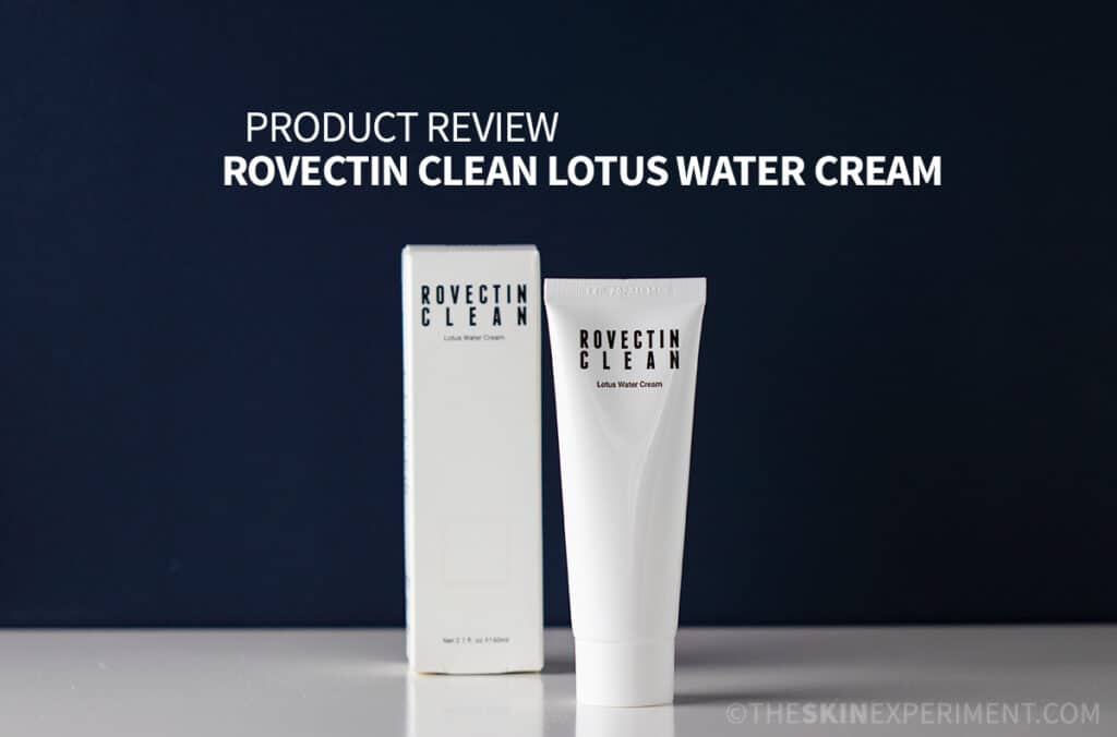 Rovectin Clean Lotus Water Cream
