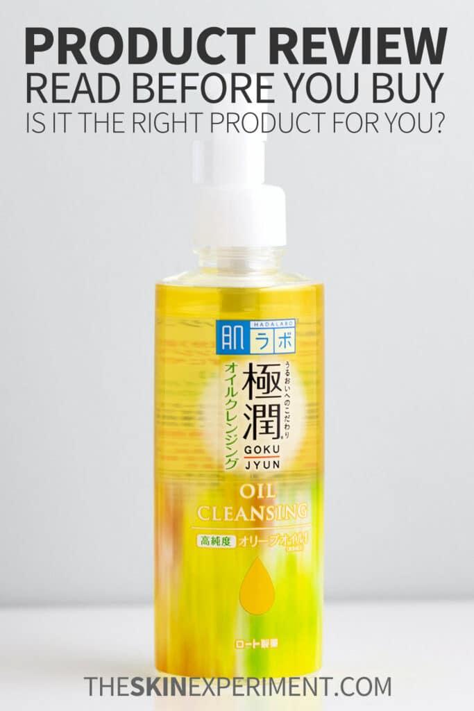 Lightweight Oil Cleanser for Sensitive Skin