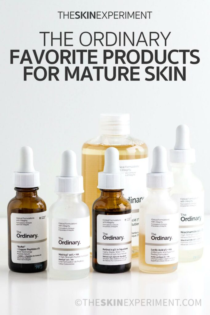 The Best The Ordinary Products for Mature Skin